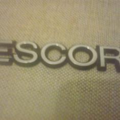Sigla emblema - ESCORT - FORD - 153 x 26 mm - Embleme auto