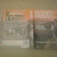 Bigfoot - The unforgettanle encounter (1994) - DVD - Film drama, Engleza