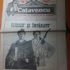 ziarul international catavencu anul 1, nr. 8 ,din 1991-art. iliescu si imparatu'