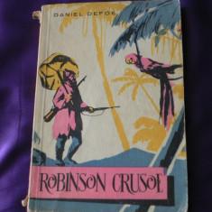 Robinson Crusoe - Daniel Defoe colectia Cutezatorii (f0214 - Carte de aventura