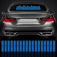 NOU! Sticker egalizator luneta auto universal | tuning tuning boxe led
