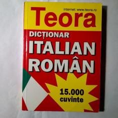 Alexandru Balaci - Dictionar italian-roman {1998}