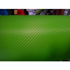 folie carbon verde 3d texturata pentru elemente auto si birotica