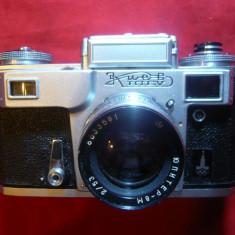 Aparat Foto Kiev Editie Olimpica, 1980 Moscova, Obiectiv Jupiter 8m 2/53 mm - Aparat Foto cu Film Kiev