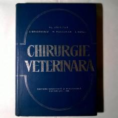 Vl. Capatina, s.a. - Chirurgie veterinara - Carte Medicina veterinara