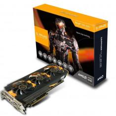 Placa video SAPPHIRE AMD 11227-00-40G, R9 290, PCI-E, 4096MB GDDR5, 512 bit, 1000 MHz, 5200 MHz, 2*DVI, HDMI, DP, OC, TRI-X FAN bulk - Placa video PC Sapphire, PCI Express, 3 GB, Ati