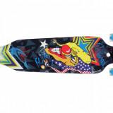 Longboard Drop-Through 41'' LED Albastru NOU - Skateboard Nespecificat, Barbati