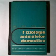 N. Crista, s.a. - Fiziologia animalelor domestice - Carte Medicina veterinara