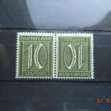 1921 Germania ( Reich ) Mi - K 5 Cu guma si sarniera., Nestampilat