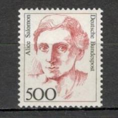 Germania.1989 Personalitati feminine  SG.620