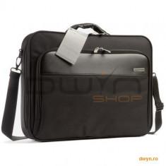 Geanta Belkin, notebook 17', Black F8N205EA - Geanta laptop Belkin, Geanta de umar, Nailon, Negru
