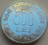 Moneda 500 Lei - ROMÂNIA, anul 1999 *cod 2215 a.UNC luciu batere, Aluminiu