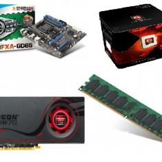 Sistem Gaming, fx8120, 8core-4.3ghz, 10gb ddr3 1600, ssd 60gb, 1tb hdd, hd6870 1gb - Sisteme desktop fara monitor AMD
