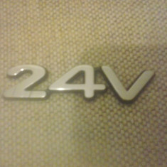 Sigla emblema - 24V - FORD - 80 x 20 mm - Embleme auto