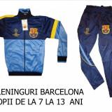 TRENINGURI barcelona, COPII 12---14 ANI, PANTALONI CONICI, LIVRARE GRATUITA, Marime: S, M, Culoare: Din imagine