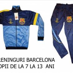 TRENINGURI barcelona, COPII 12---14 ANI, PANTALONI CONICI,, Marime: S, M, Culoare: Din imagine