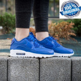 ADIDASI NIKE AIR MAX 90 Leather ORIGINALI 100% din GERMANIA nr 37.5 - Adidasi dama, Culoare: Din imagine