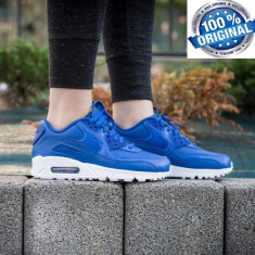 ADIDASI NIKE AIR MAX 90 Leather ORIGINALI 100% din GERMANIA nr 37.5 - Adidasi dama Nike, Culoare: Din imagine