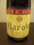 Vin vechi de colectie BAROLO, GHERZI,  canelli, cl , gr 13,5 recolatare 1964, Sec, Rosu, Europa