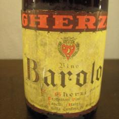 BAROLO, GHERZI, cantine canelli, cl, gr 13, 5 recolatare 1964 - cadou de crăciun - Vinde Colectie, Aroma: Sec, Sortiment: Rosu, Zona: Europa