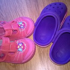 Papucei marimea 20 - Papuci copii Crocs, Marime: 21, Culoare: Din imagine