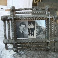 Rama foto lemn vintage
