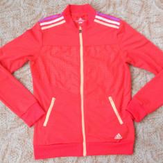 Bluza de trening adidas climalite de dama - Trening dama Adidas, Marime: M, Culoare: Rosu