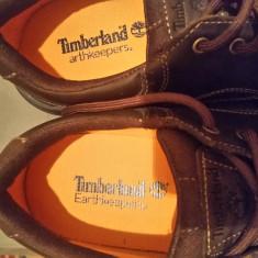 Vand pantofi Timberland originali - Pantof barbat Timberland, Marime: 43, Culoare: Maro