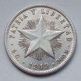 20 Centavos 1949 - Cuba - PATRIA Y LIBERTAD - Argint - (2)