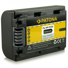 Acumulator Sony NP-FH50, NP-FH60, -FH70, -NP100, Alpha A290 compatibil marca Patona - Baterie Aparat foto PATONA, Dedicat