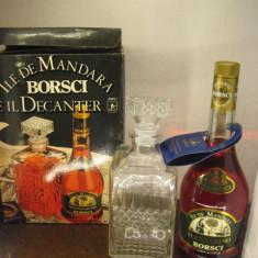 Mandarino borsci con decanter, cl 70 gr 28 } cadou de Crăciun - Lichior