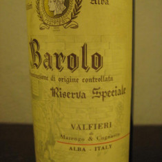 BAROLO, doc, riserva speciale valfierii, cl 72, gr 13, 5 recolatare 1967 - Vinde Colectie, Aroma: Sec, Sortiment: Rosu, Zona: Europa