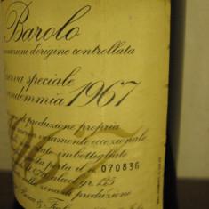 BAROLO, doc, riserva speciale bosca, doc, cl 72, gr 13, 5 recolatare 1967 - Vinde Colectie, Aroma: Sec, Sortiment: Rosu, Zona: Europa