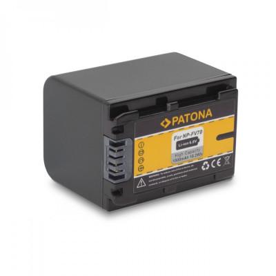 Acumulator Sony NP-FV70, NP FV70 compatibil marca Patona, foto
