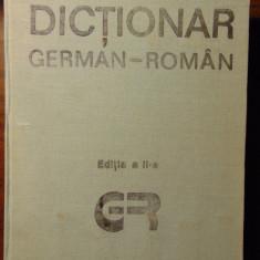 Dictionar german-roman (editia a II-a, 1989) - M. Isbasescu, Ruth Kisch