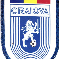 Fanion format mare - fotbal UNIVERSITATEA CRAIOVA