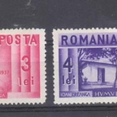 Romania 1936 Centenarul nasterii lui ION CREANGA - Timbre Romania, Oameni, Nestampilat