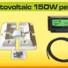 Kit solar fotovoltaic 150W pentru rulota - Panou solar
