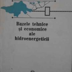 Bazele Tehnice Si Economice Ale Hidroenergeticii - Alexandru Cogalniceanu, 387369 - Carti Electrotehnica