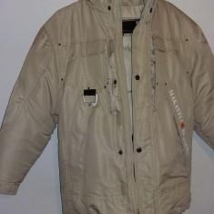 Geaca groasa puf jacheta iarna pentru baieti 10-12 ani Makaveli Branded, Marime: M, Culoare: Khaki