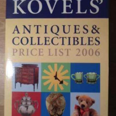 Kovel's Antiques & Collectibles Price List 2006 - Coelctiv, 387231