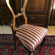 Nr. 399 Scaun pentru birou Louis Philippe autentic sec XIX.