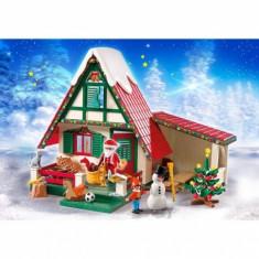 Casa lui Mos Craciun Playmobil