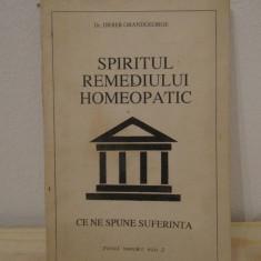 Spiritul remediului homeopatic-Didier Grandgeorge - Carte Hobby Paranormal