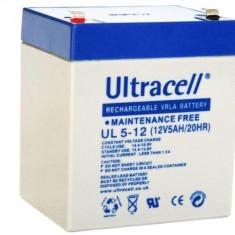 ACUMULATOR 12V 5AH UL5-12 ULTRACELL