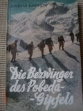 Jewgeni simonow die bezwinger des pobeda gipfel alpinism expeditie lb germana, Alta editura