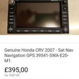 Navigatie Honda