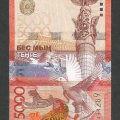 KAZAHSTAN KAZAKHSTAN 5000 5.000 TENGE 2011 a UNC [1] P-38a.1 - bancnota asia
