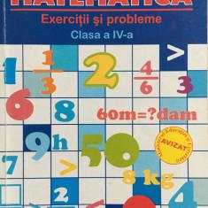 MATEMATICA EXERCITII SI PROBLEME CLASA A IV-A - A. Arghirescu, F. Ancuta - Culegere Matematica
