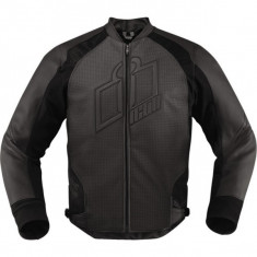 MXE Geaca moto piele Icon Hypersport, stealth Cod Produs: 28102559PE - Imbracaminte moto